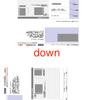 pdftk でPDFの各ページの上下左右の回転をする