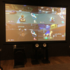 シアタールームでゲーム - 100インチ大画面の迫力に子ども達は大喜び!