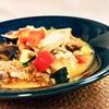 夏野菜カラフル麻婆豆腐ホットクックレシピ