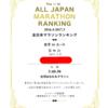 全日本マラソンランキングー!90位!!!
