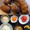 本日の朝食は自然薯と無農薬栽培の里芋のみそ汁♪