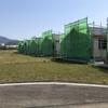 「雲仙市に住もう!」吾妻町オール電化平屋戸建て賃貸住宅 棟上げ完成しました!
