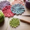 刺繍糸はDMC8番を使っています。