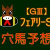 【GⅢ】フェアリーS 結果
