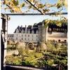 ヴィランドリー城の菜園(フランス ロワール地方)