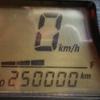 25万kmになりました。