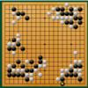 【囲碁】名人戦第2局1日目の図(井山vs虎丸)