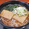 2月17日(月)豊洲で食べたきつねそばと、3時間超えの取材。