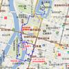 広島平和記念公園と広島城