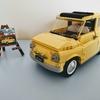 レゴ:LEGO CREATOR Fiat 500|LEGO 10271の開封&レビュー