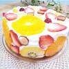 『断面フルーツのヨーグルトムース』は低カロリーでダイエット中にも安心♡
