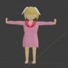 【Blender2.9】簡単キャラクターモデリング制作(髪の毛)【初心者】