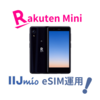 【Rakuten Mini×IIJ eSIM】2円で高速通信ルーターを自作してみた