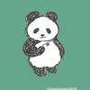 かわいいパンダのイラスト パンダグッズだってアートなんです