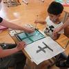やまびこ:学習の様子 書写、漢字、図工、家庭科…