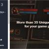 RPG & MMO UI 3 for UGUI ディアブロ風UIのテクスチャー素材(uGUIサンプルシーン付き)