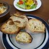朝ごパン実食レポ~クピドのフィグとカヤバベーカリーのパンときのこのアンチョビソース和え~