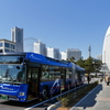 連節バス「ベイサイドブルー」横浜市都心臨海部を2020年7月から走行開始!バリアフリー対応レポート