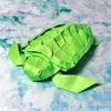 甲羅までリアルに再現! 神谷哲史折り紙作品集「アカウミガメ」に初挑戦