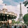 パリ旅行記 day1② エッフェル塔をひたすら見上げる