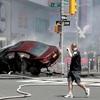 NY中心部で車暴走、1人死亡…元海軍軍人逮捕