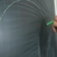 黒板にチョークでキレイな点線を描くコツとは!?