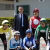 騎手課程第26期生 ブリーズアップセールに騎乗
