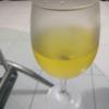 白ワインが美味しい!今日の夕食
