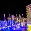 沖縄かりゆしビーチリゾート「ミリオンファンタジー」イルミネーション画像、動画