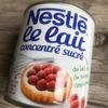 フランスで練乳みつけた!スーパーで普通に買えちゃうのね