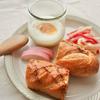 おせちアレンジ、栗きんとんをお洒落朝食に!エッグスラットを作ったよ♡