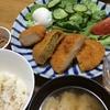 コロッケ定食・納豆