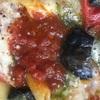 バジル香るトマトとナスののび〜るチーズ焼き(糖質ダイエット日記20年9月10日)