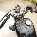 アメリカンバイクのハンドル交換やり方【完全版】穴あけで配線スッキリ