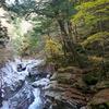 紅葉の名所(?)、愛媛県面河渓を散策
