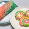 レインボーロールケーキの作り方。映えます。