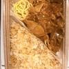 【グルメ】ガーリックライスと豚焼き肉の弁当✨