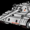 【WOT】戦車のイラストとか書いていたのを思い出したマン アイコンも変えてみました。