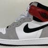 """【サイズ感など】Nike Air Jordan 1 High OG """"Light Smoke Grey"""""""