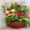 モスバーガー とま実バーガーと10種の野菜のミネストローネ