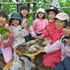 森のお遊び会 6月 木育 飯盒炊爨 シーソー作り