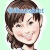 iPadで描いた 小西真奈美さんの似顔絵と似顔絵が出来上がるまで。