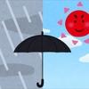 ⑦雨が降っても晴れても傘のお世話