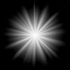 【Photoshop CC】中心から光が広がるようなテクスチャを作る