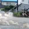 九州各地で非常に激しい雨