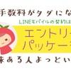 【裏技!経験談】LINEモバイルはエントリーパッケージでの契約がトク!