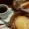 フォレスティコーヒー「モーニングセット(ハム&チーズクリームサンド)」「はちみつトースト」