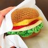 毛糸で作るハンバーガー 正体はコースター!子ども受けNo1「毛糸のティータイム」より