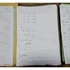 夏休みの宿題を子供にしてもらう方法(^^)全部の宿題を書き出して一覧表にする。毎日の記録表を書いてもらう。あとは毎日見る(^^)