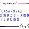 【スカステ感想】今更ながら…花組「CASANOVA」新人公演映像を観た感想